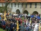 Audience u císaře Karla I. - Brandýs n. Labem