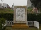 Pomník v Bořanovicích
