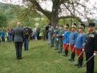 Slavnostní jmenování mjr. Hauga
