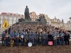 Pochod Prahou - návrat z války 1914 - 1918
