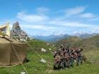 Pomník osmadvacátníků v Alpách