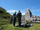 Kladení věnců k pomníku