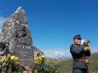 Pomník osmadvacátníků v rakouských Alpách 20.8. 2016