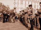 Nástup na Staorměstkém náměstí