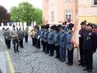 svěcení plukovního praporu 8. zeměbraneckého pluku