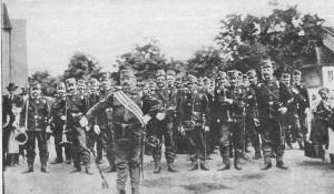 Regiments-Musik 1908